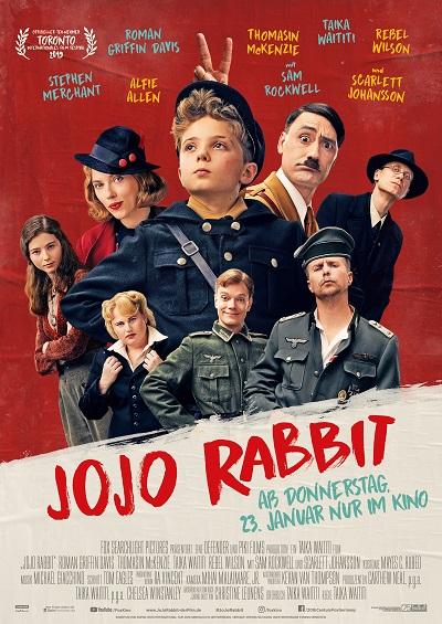 Hauptplakat Jojo Rabbit