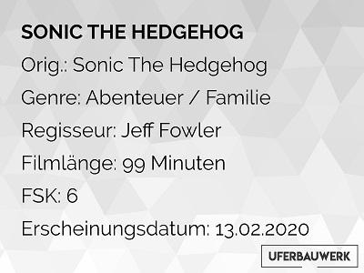 Info Sonic: The Hedgehog