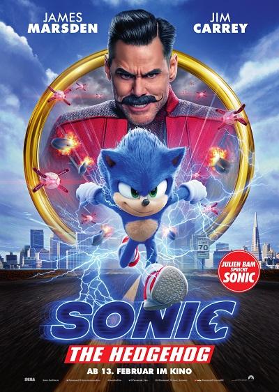 Hauptplakat Sonic: The Hedgehog