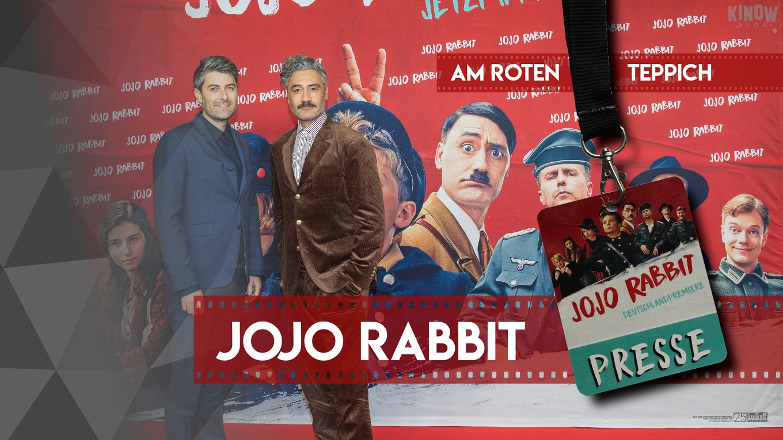 Vorschaubild Am Roten Teppich Jojo Rabbit