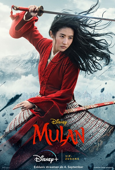 Hauptplakat Mulan