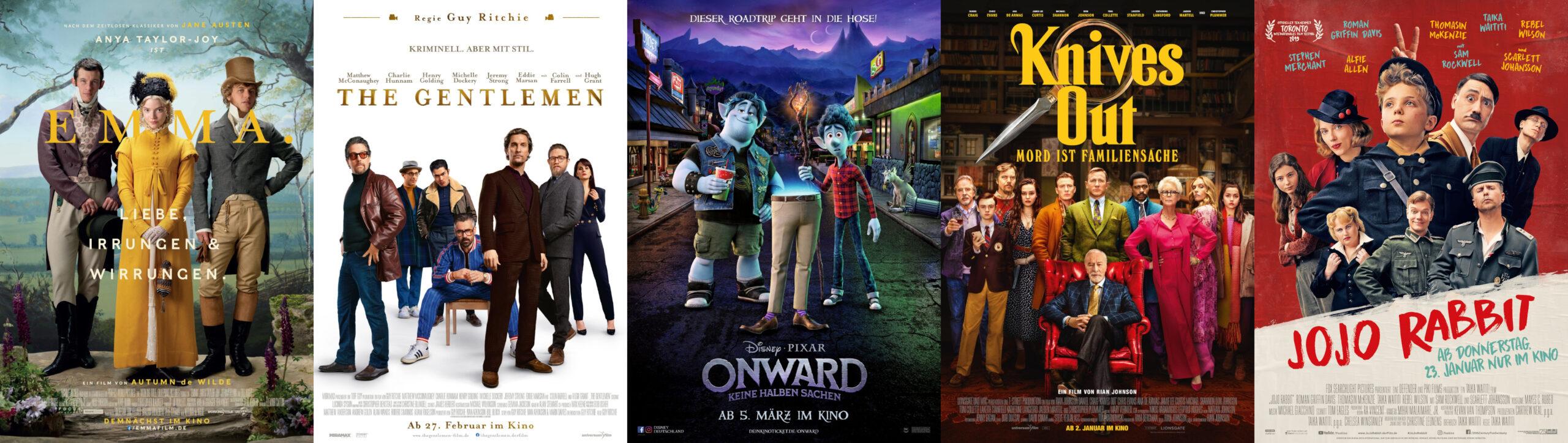 Poster Die besten Filme 2020